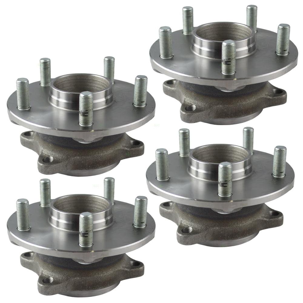 4 Piece Set of Wheel Hub Bearings Replacement for Suzuki Grand Vitara 43402-57L51 HA590178