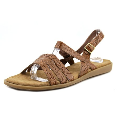 Aerosoles Astrology Women  Open-Toe Leather Brown Slingback Sandal