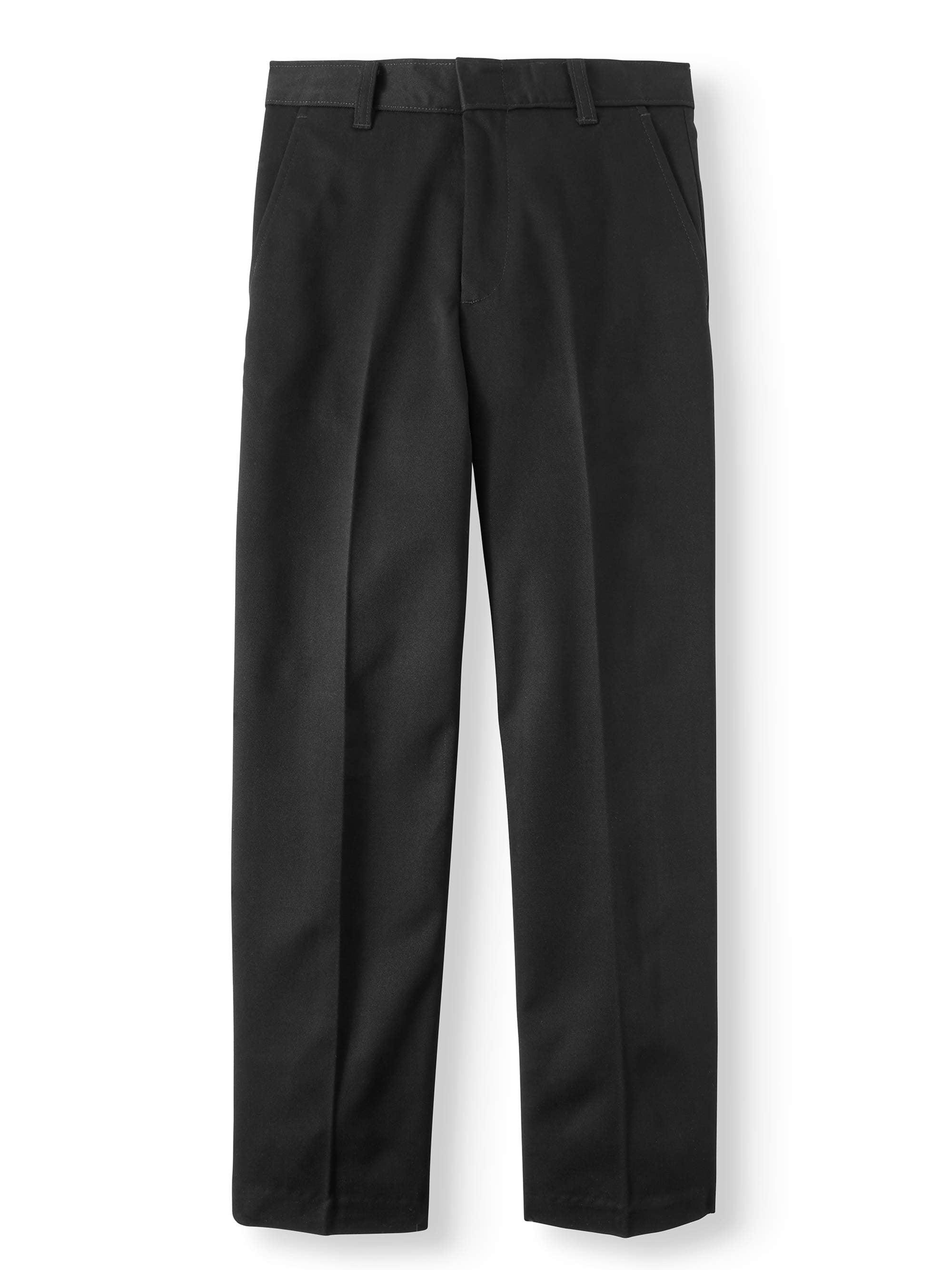 Boys School Uniforms Flat Front Pants