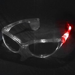 Red White and Blue LED Sunglasses, Fun! By - Red White Blue Sunglasses
