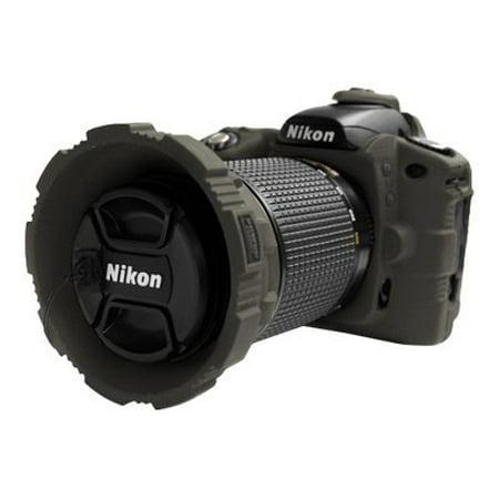 Nikon D80 Camera Case (MADE Rubberized Camera Armor Case for Nikon D80 (Smoke) )