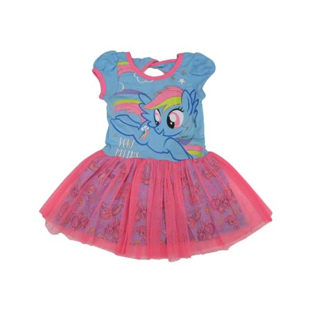 Hasbro Little Girls Blue Pink My Little Pony