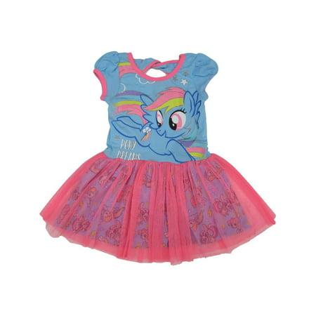 Hasbro Little Girls Blue Pink My Little Pony