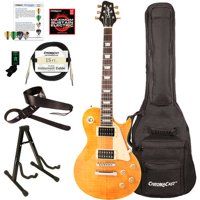 Sawtooth Heritage Series Flame Maple Top Electric Guitar with ChromaCast Gig Bag and Accessories