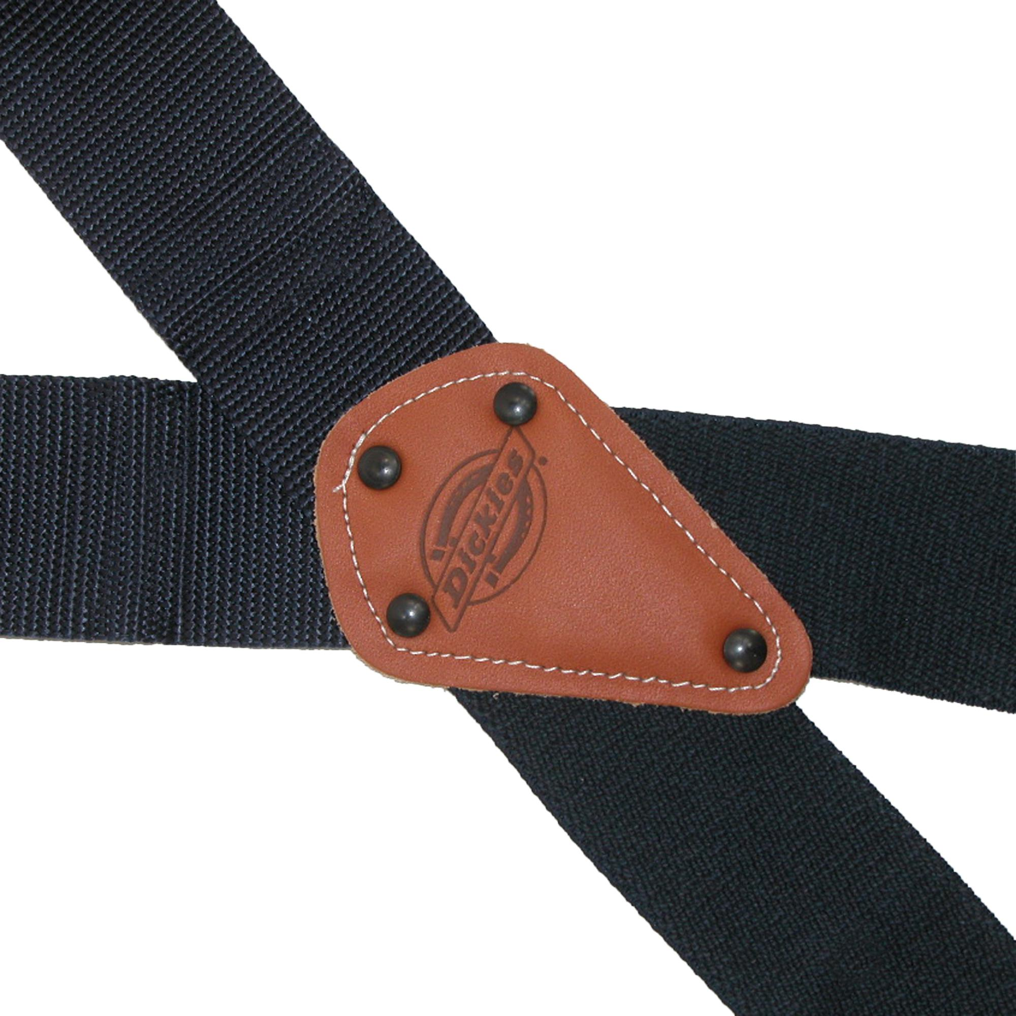 New Dickies Men/'s Industrial Strength Ballistic Nylon Clip End Work Suspenders