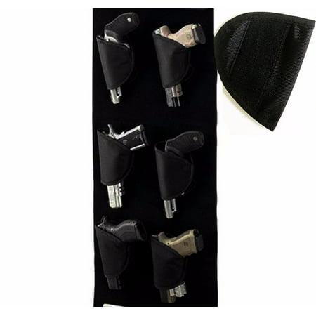 Gun Storage Hand Gun Safety Six Pack, Black