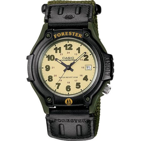 Casio Men's FT500WVB-3BV Green Cloth Quartz Watch