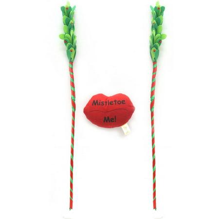 Holiday Time Christmas Decor Mistletoe Car Costume