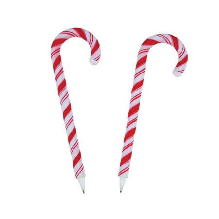 Candy Cane Pens - 12 pcs (Candy Cane Lollipop)
