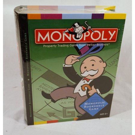 Parker Brothers Monopoly Rules - Monopoly Bookshelf Game