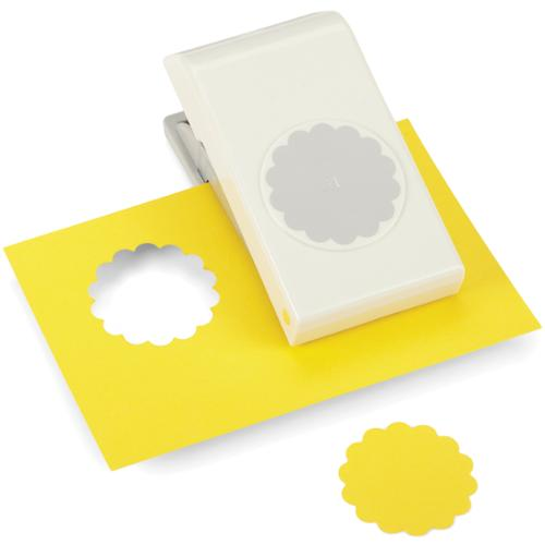 Nesting Paper Punch-Scallop Circle 1.75