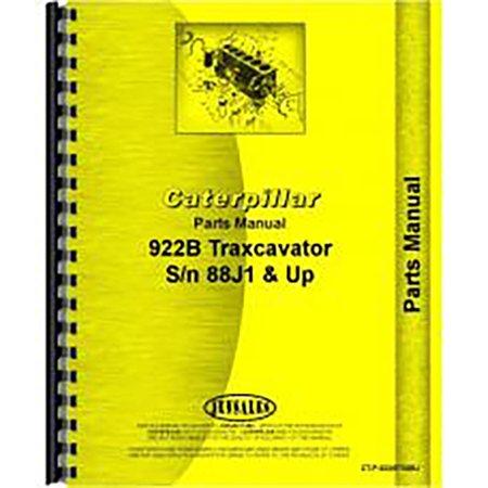 For Caterpillar 922B Traxcavator Parts Manual (New