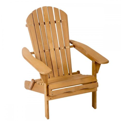 Outdoor Wood Adirondack Chair Garden Furniture Lawn Patio Deck Seat 2000 by
