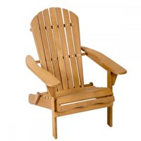 product image outdoor wood adirondack chair garden furniture lawn patio deck seat 2000 - Decorating Adirondack Chairs For Christmas