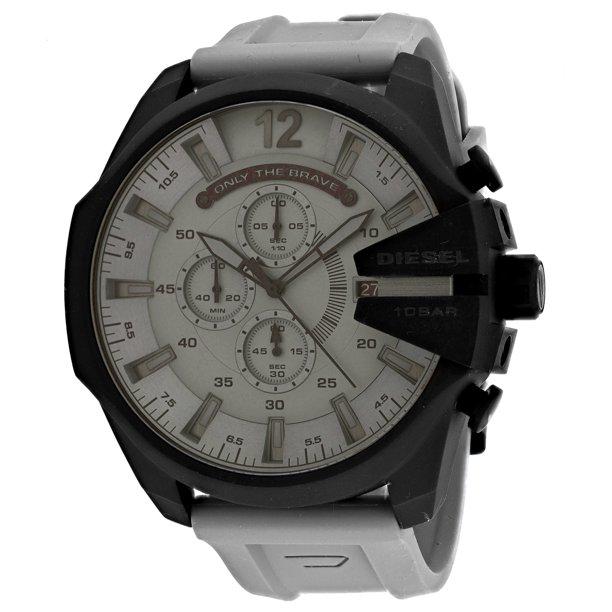 Diesel Men's Mega Chief Stainless-Steel Plated Watch