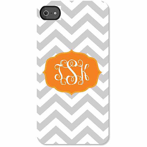 Personalized Chevron Monogram iPhone 4 Case