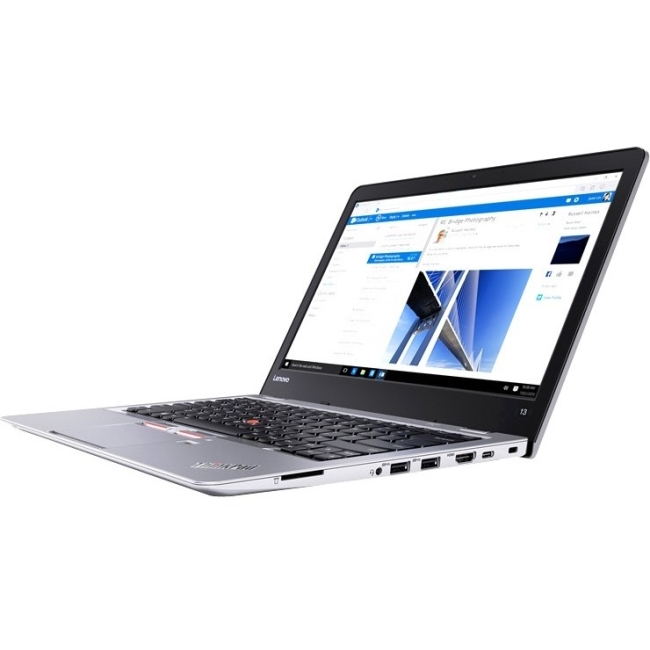"Lenovo ThinkPad 13 20GJS00600 13.3"" Ultrabook Intel Celeron 3855U Dual-core (2 Core) 1.60 GHz 4 GB DDR4... by Lenovo"