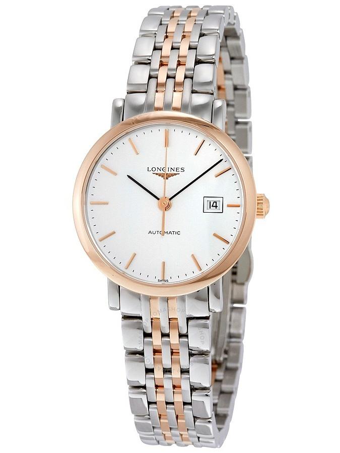 Longines Elegant White Dial Ladies Watch L43105127