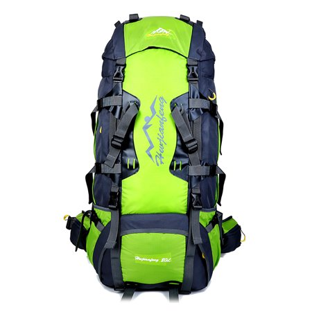 25b548d7a708 80L Backpack Internal Frame Outdoor Water Resistant Backpack Climbing  Fishing Hiking Daypack Camping Outdoor Trekking Mountaineering