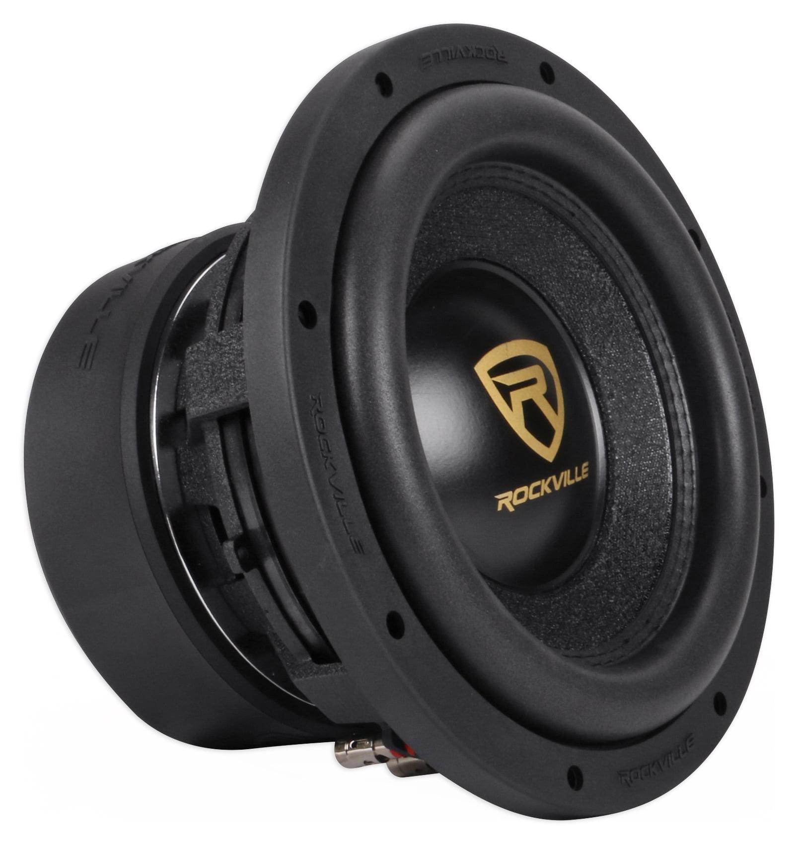 2 Rockville W10K9D2 10 6400 Watt Car Audio Subwoofers Dual 2-Ohm Subs