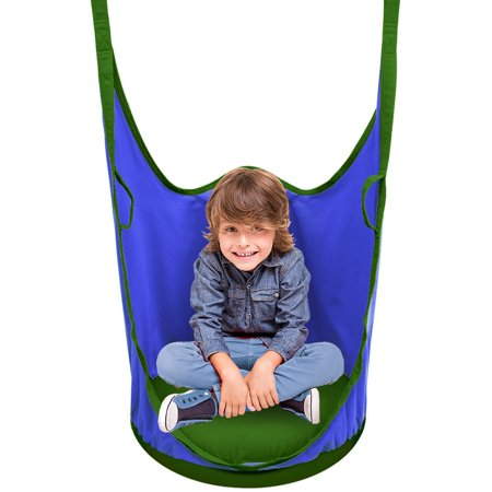 d11e584dd Sorbus  Kids Pod Swing Chair Nook - Hanging Seat Hammock Nest for ...
