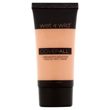 wet n wild CoverAll Creme Foundation, Light/Medium, 1.0 FL OZ