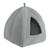 Petmaker, Medium, Cozy Kitty Tent Igloo, Cat Bed, Multiple Colors, 17-in