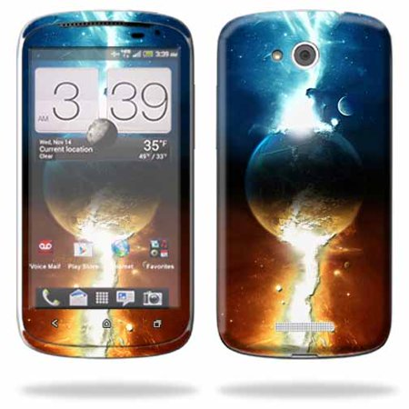 Mightyskins Protective Skin Decal Cover For Htc One Vx Cell Phone At Wrap Sticker Skins Sci Fi