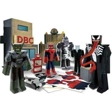 Marvel blueprints battle of oscorp deluxe figure set walmart marvel blueprints battle of oscorp deluxe figure set malvernweather