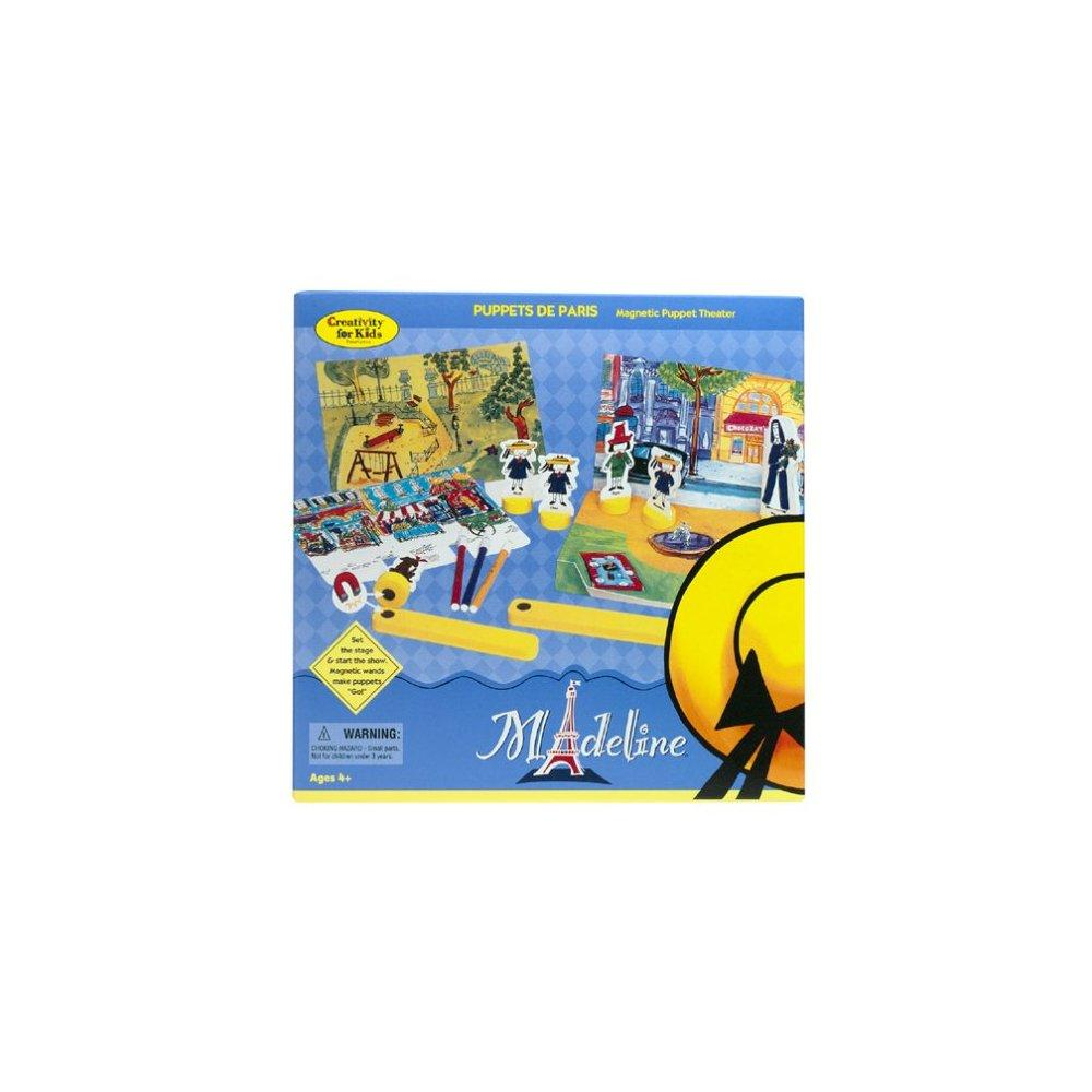 Madeline Puppets De Paris Magnetic Puppet Theater by