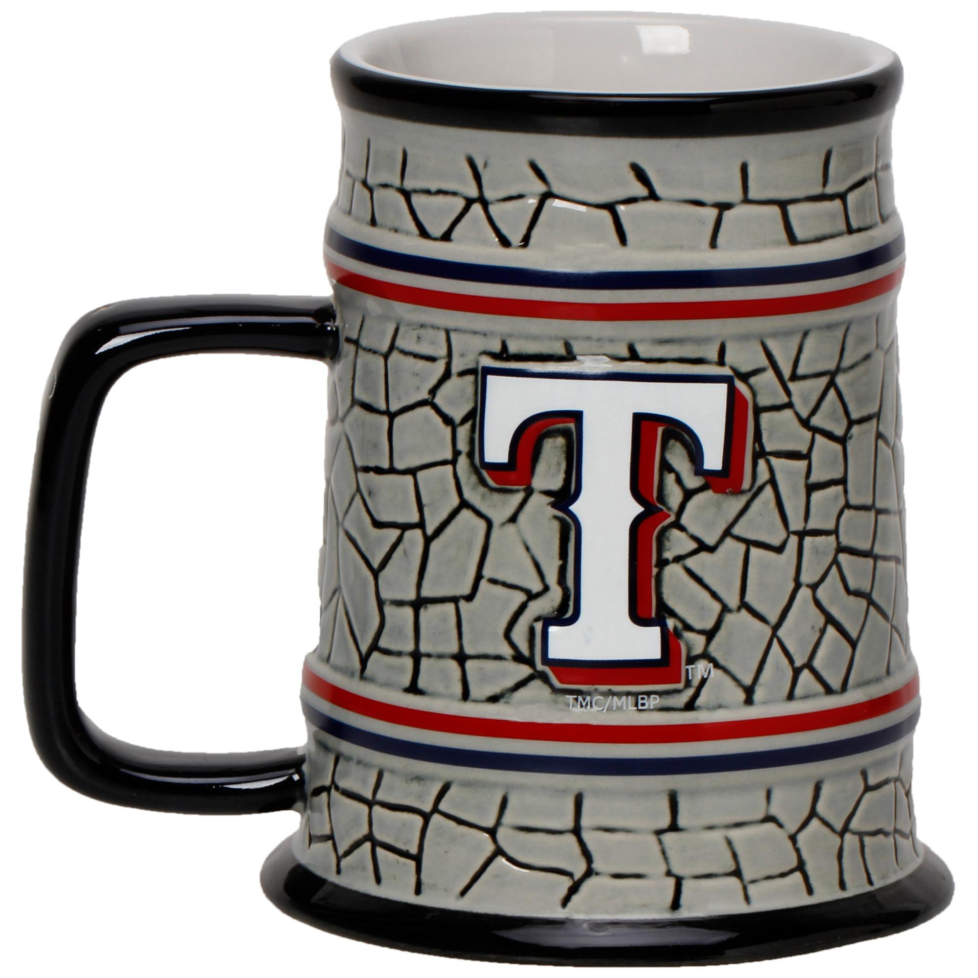 Texas Rangers 15oz. Stone Stein - No Size