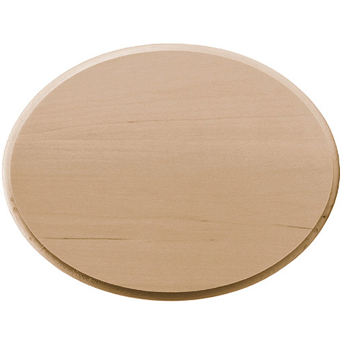 "Basswood Oval Plaque, 6""x8"""