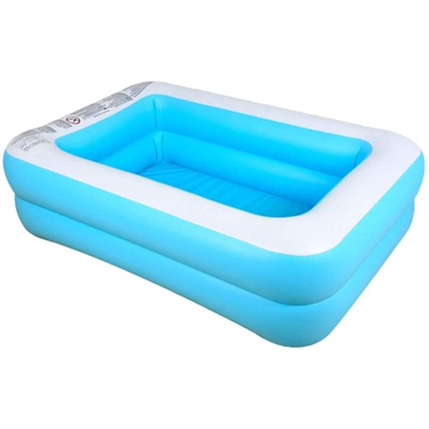 Joyx Family Inflatable Swimming Pool Kiddie Pools Swim Center For Kids Inflatable Lounge Pool For Kiddie Kids Easy Set Swimming Pool For Backyard 71x55x18in Walmart Com Walmart Com