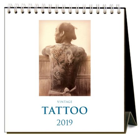2019 Tattoos 2019 Easel Desk Calendar,  by Found Image Press