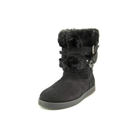 G By Guess Alta-X Women  Round Toe Canvas Black Winter (Mens Guess Boots)