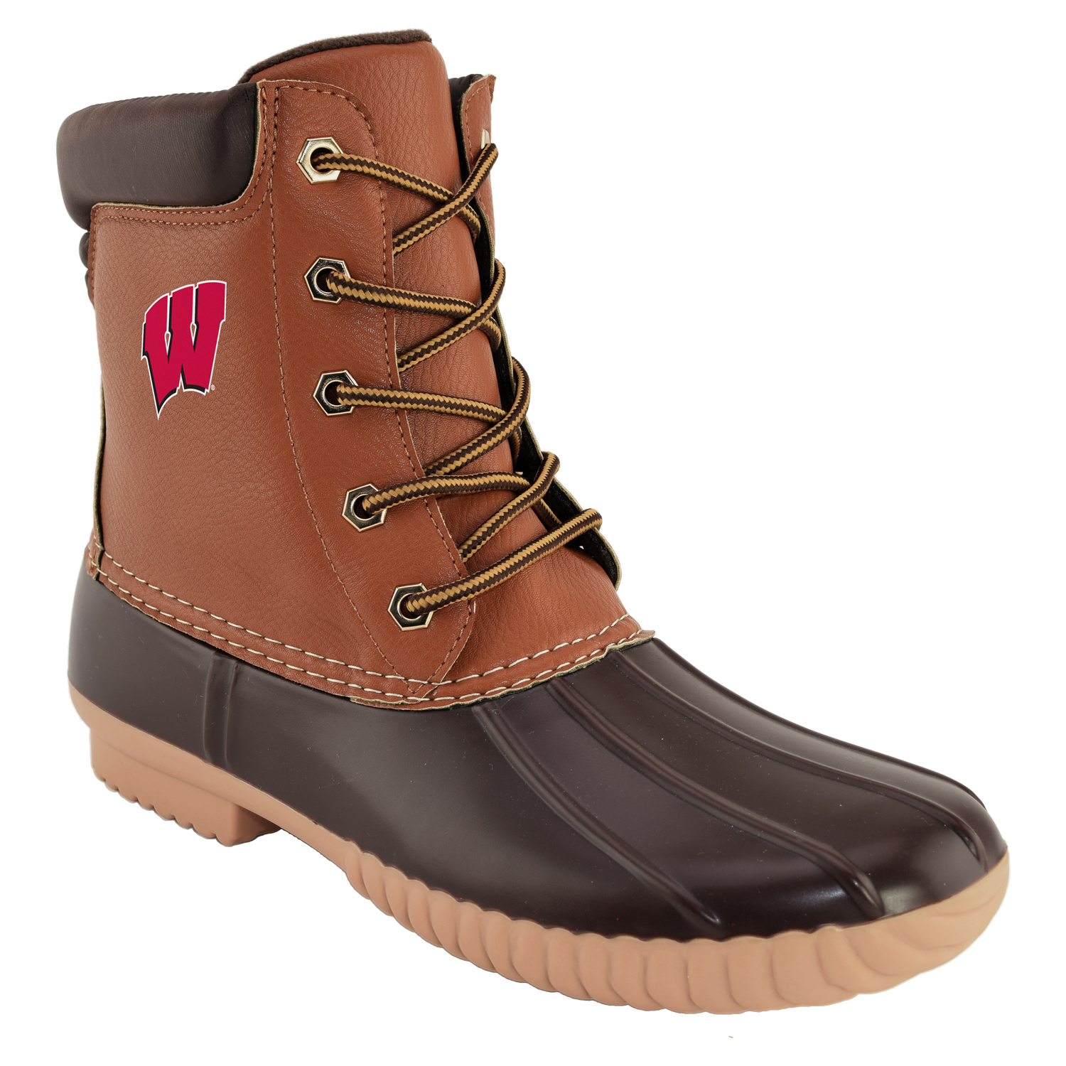 NCAA Men's Wisconsin -Duck Boot by GERNERIC