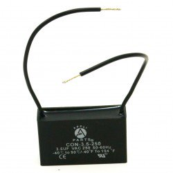 - Fan Capacitor  3.5 Mfd uf 250V 2 Wires
