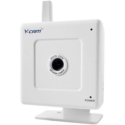 Y-Cam White Wireless  Network Camera