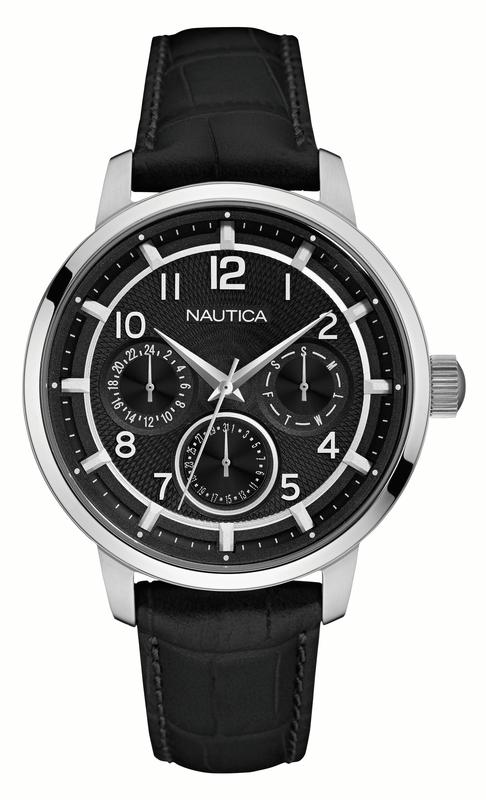 NAUTICA MEN'S WATCH NCT 15 MULTI II 44MM by Nautica