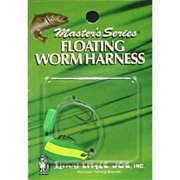 Little Joe Floating Worm Harness Fishing Lure Harness Lime Yellow Blade Lime Float 36 inch length Snell