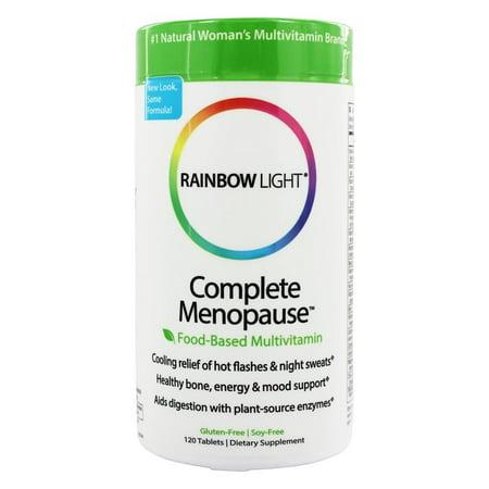 rainbow light complete menopause multivitamin 120 tablets. Black Bedroom Furniture Sets. Home Design Ideas