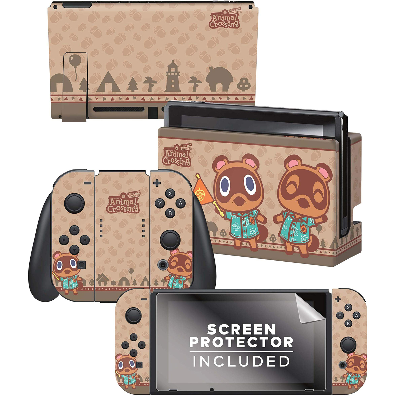 Controller Gear Animal Crossing New Horizons Skin Set Nintendo