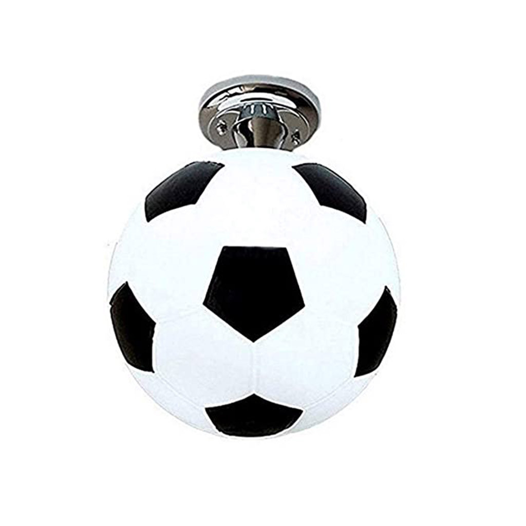 Inkach Creative Light Ceiling Balcony Black 25cm Football Lamp Walmart Com Walmart Com