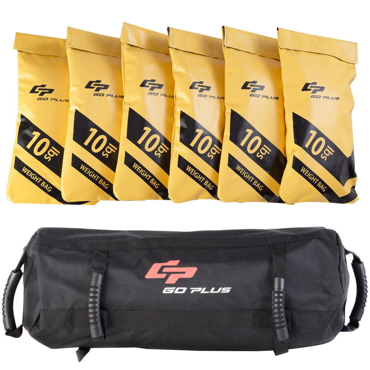 c8bf90245d45 Goplus 60lbs Body Press Durable Fitness Exercise Weighted Sandbags w Filler  Bags