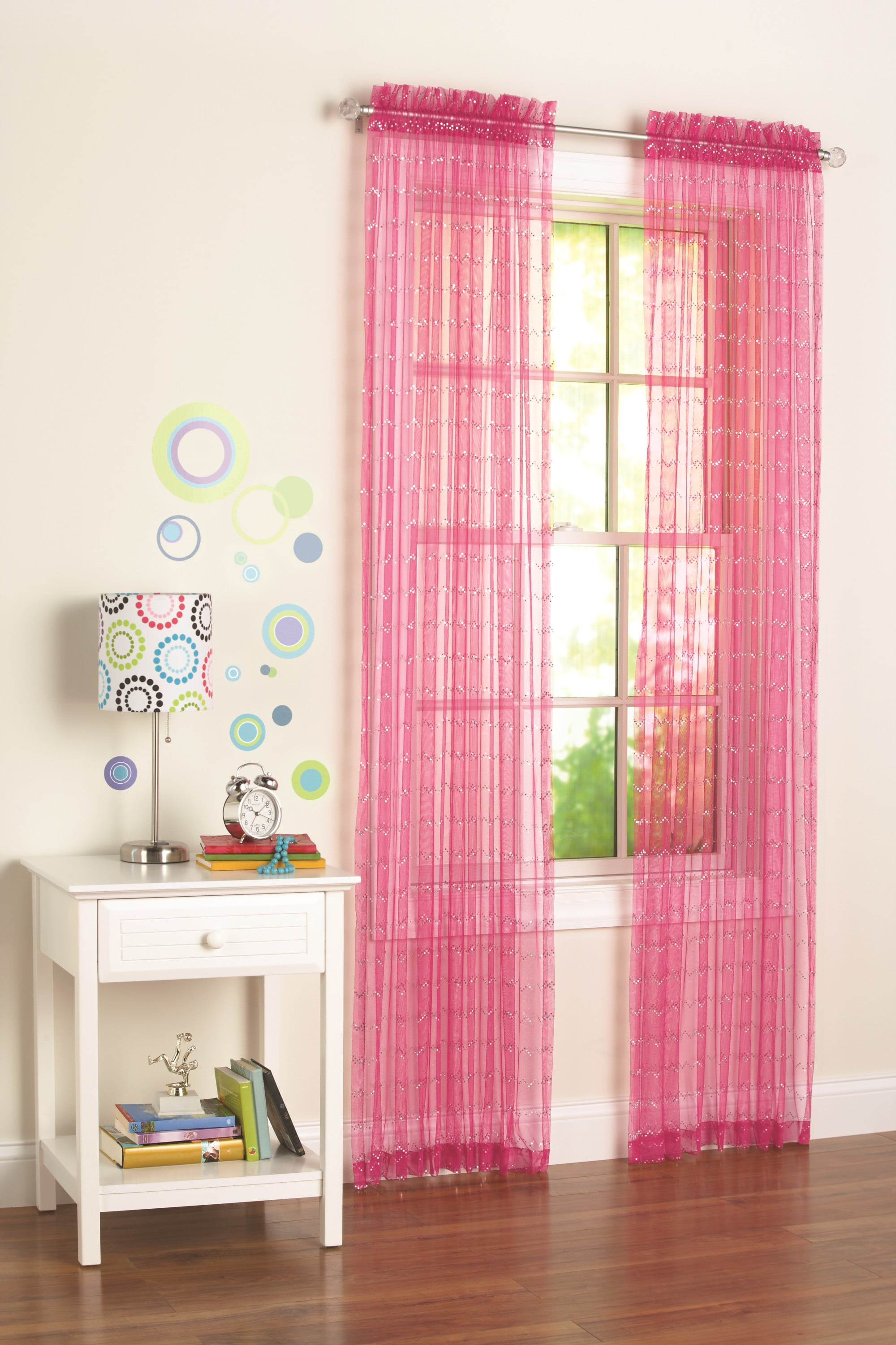 your zone single window panel pink 100 polyester 25 x 84 walmart com walmart com your zone single window panel pink 100 polyester 25 x 84 walmart com