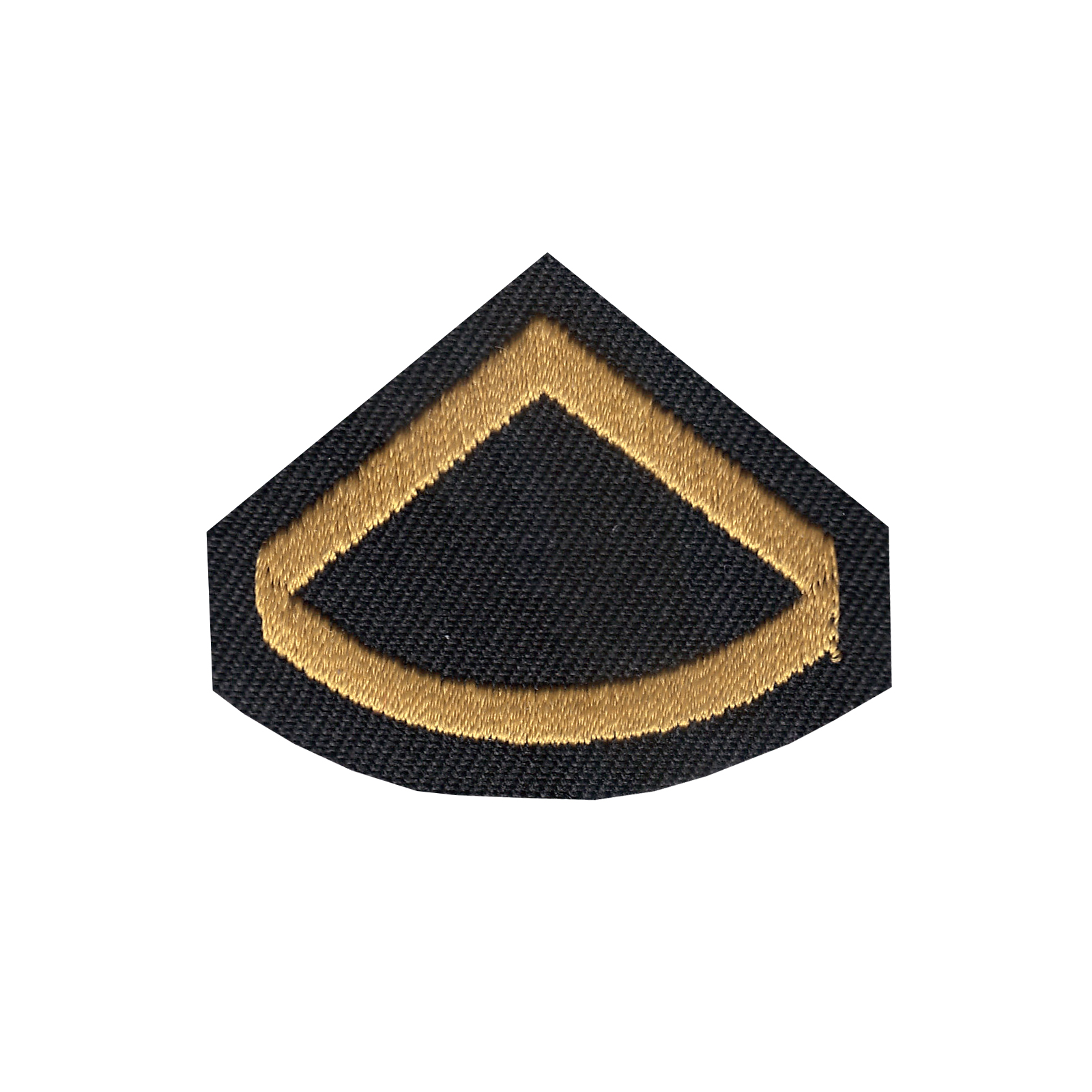 Private First Class Iron On Applique Patch