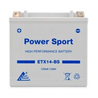 ExpertPower ETX14-BS 12v14Ah YTX14-BS replacment (12V 14Ah Sealed) Maintenance Free Battery