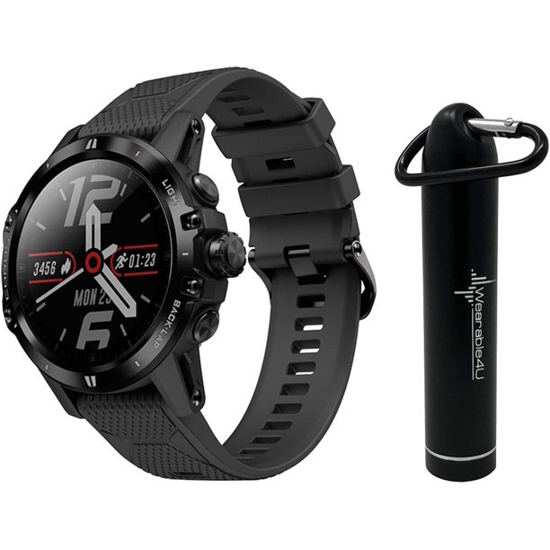 Coros VERTIX GPS Adventure Watch Titanium Alloy, Sapphire W Wearable4U Power