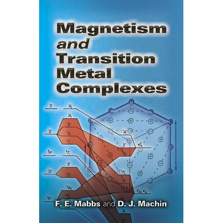 - Dover Books on Chemistry: Magnetism and Transition Metal Complexes (Paperback)