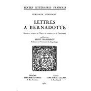 Lettres  Bernadotte - eBook